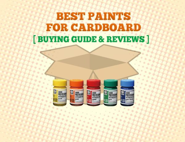 Best Paint For Cardboard 600x460