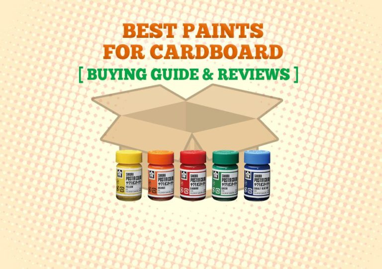 Best Paint For Cardboard 768x541