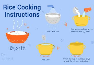 Rice Cooking Instructions